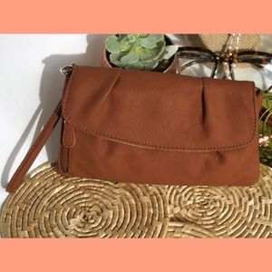 Brown Clutch Style Wallet